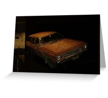 Corrigated Iron Kingswood Greeting Card