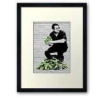 Laughing all the way... Framed Print