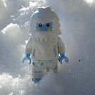 Yeti in the Snow by Shauna  Kosoris
