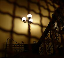 shadows from a Victorian hallway by ragman