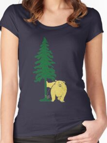 tinkle bear Women's Fitted Scoop T-Shirt
