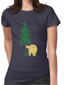 tinkle bear Womens Fitted T-Shirt