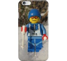 Out for a Ski! iPhone Case/Skin