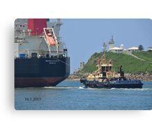 BRITISH LOYALTY CARGO SHIP Canvas Print