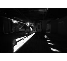 Shards of light, splints of glass Photographic Print