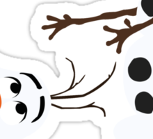 Olaf - No Outline Sticker
