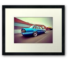 Blue Commodore VL Framed Print