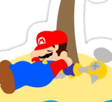Super Mario Sunshine - Relaxation Sticker