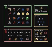 Link the the Past Item Menu by Justin-Case001