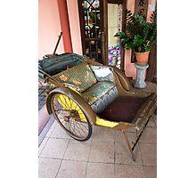 Antique Trishaw of Penang Photographic Print