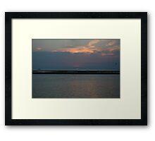 Louisiana Sunset Framed Print