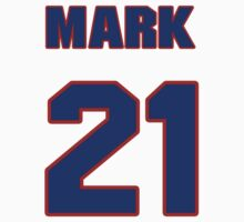 National Hockey player Mark Astley jersey 21 by imsport