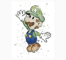 Luigi Watercolor Kids Clothes