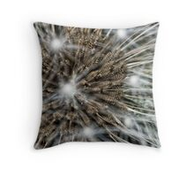 Electric Dandelion Throw Pillow