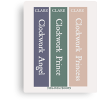 The Infernal Devices by Cassandra Clare Canvas Print