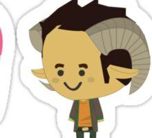Chibi Saga Sticker
