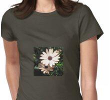 Joyful - Peach Coloured Cape Daisies Womens Fitted T-Shirt