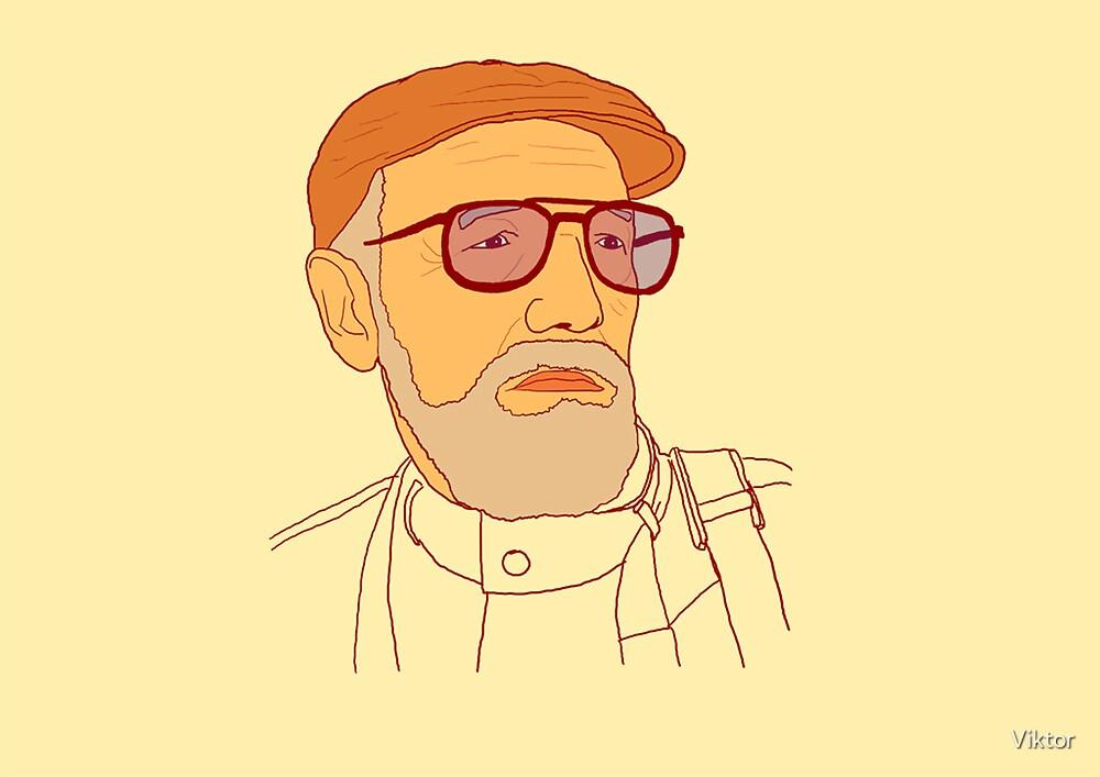 Old man by Viktor