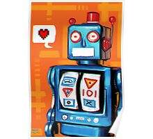 Robots Need Love Too Poster