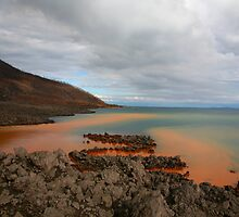 Rusty Water, Rabaul Harbour by Erland Howden