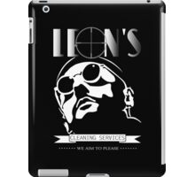 Leon's cleaning services. iPad Case/Skin