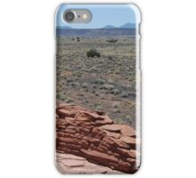 a view from a desert patio iPhone Case/Skin