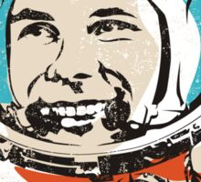 Be first like Yuri Gagarin.  Sticker