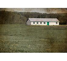 Old-fashioned Farm Shed Photographic Print