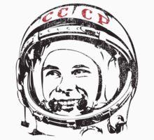 Be first like Yuri Gagarin.  by frail