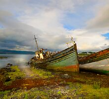 Fishing boats - Isle of Mull by eddiej