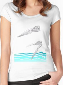 The Skimmer Women's Fitted Scoop T-Shirt