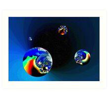 Fractal Cosmos Art Print