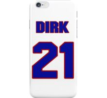 National Hockey player Butch Goring jersey 21 iPhone Case/Skin