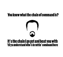 The Chain of Command by steffirae