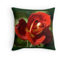 French Petals Throw Pillow