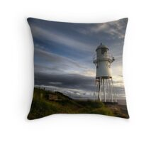 Black Nore Light House Throw Pillow