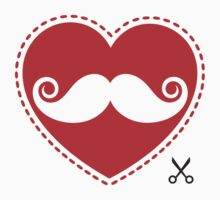I love mustache by frail