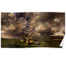 The JCB - Dreams Of Retiring To The Countryside Poster
