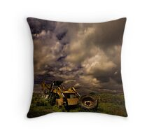 The JCB - Dreams Of Retiring To The Countryside Throw Pillow