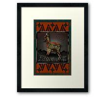 Pronghorn Framed Print