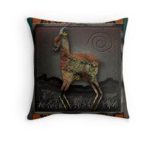 Pronghorn Throw Pillow