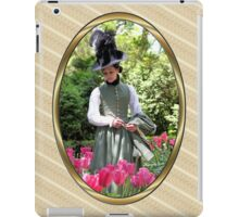 A Colonial Lady in Her Garden iPad Case/Skin