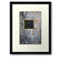 Crathes Door Detail Framed Print
