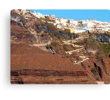 The way down Canvas Print