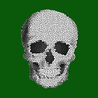 Mosaic Tile Skull by TinaGraphics