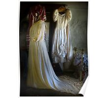 A Ladies' Boudoir ... Gowns Poster