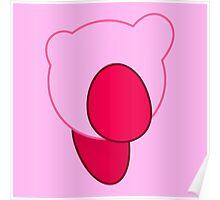 Kirby Minimalist Poster