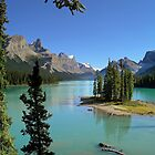 Lake Maligne - Jasper National Park by John Kardys