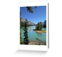 Lake Maligne - Jasper National Park Greeting Card