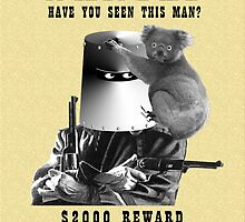 Wanted - Ned Kelly by LetThemEatArt